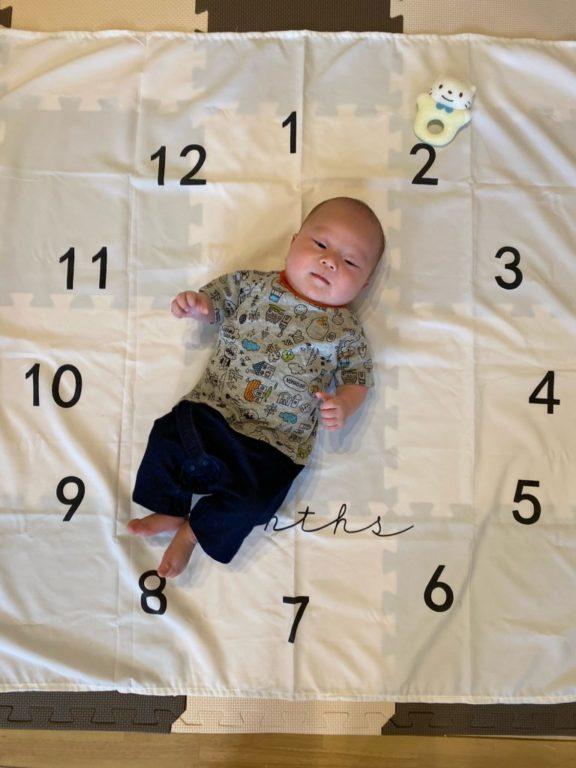 赤ちゃん2ヶ月
